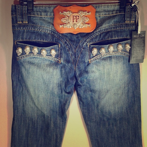 79716f1716 Phillip Plein Jeans | Final Philipp Plein Skinny Sz 40 | Poshmark