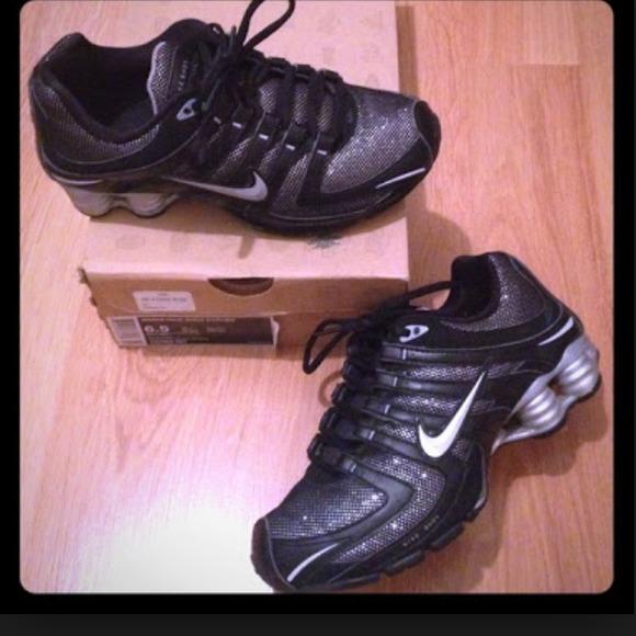 370dda73984a0a Nike Shox Black Glitter. M 5469039c35d2db732c279feb