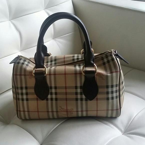 dd207847ab Burberry Handbags - Burberry Haymarket Check Chester Bag