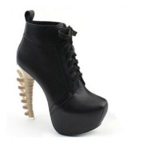 Lace up bootie love them!!!!!