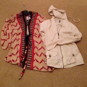 Other - Bundle Soft Surroundings Caftan and XCVI hoodie