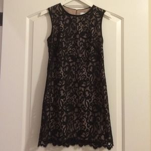 LOFT Dresses & Skirts - LOFT Black Lace Dress