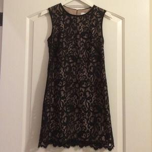 LOFT Black Lace Dress