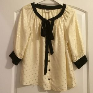 Milly Polka Dot Bow Top