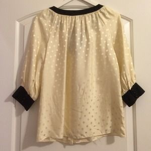 Milly Tops - Milly Polka Dot Bow Top