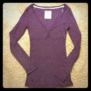 Energie Tops - Purple Long Sleeve Top