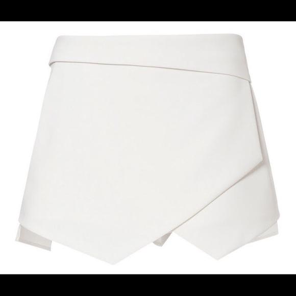 Zara Skirts Origami Skirt In White Size S Poshmark