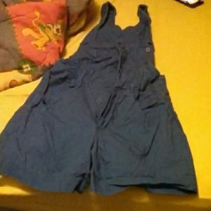 Womens shorts overalls