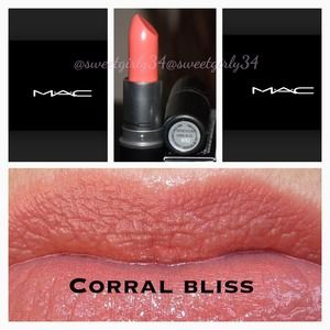 MAC Cosmetics - MAC lipstick in CORAL BLISS from Glory's closet on ...