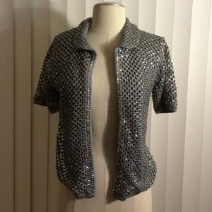 atmosphere Jackets & Blazers - Knit sequin jacket