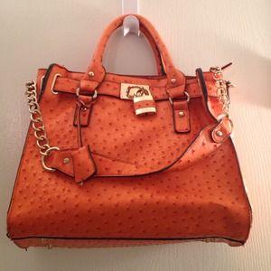 herme birkin bag - JustFab - Hermes/Michael Kors Inspired Handbag from Melissa's ...