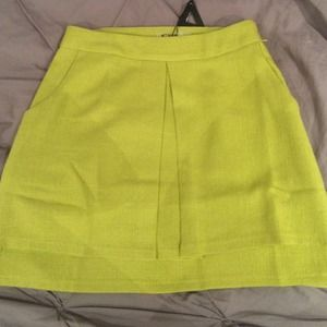Nasty Gal Dresses & Skirts - Yellow skirt, heavier fabric...great for fall.