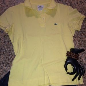Yellow  Lacoste