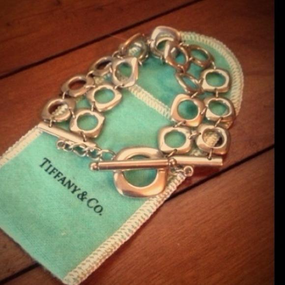 ab868e611 Rare Authentic Tiffany Co double loop bracelet. M_5469723204a9d10570068045