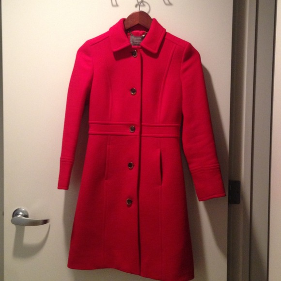 J Crew Jackets Coats Jcrew Doublecloth Lady Day Coat W