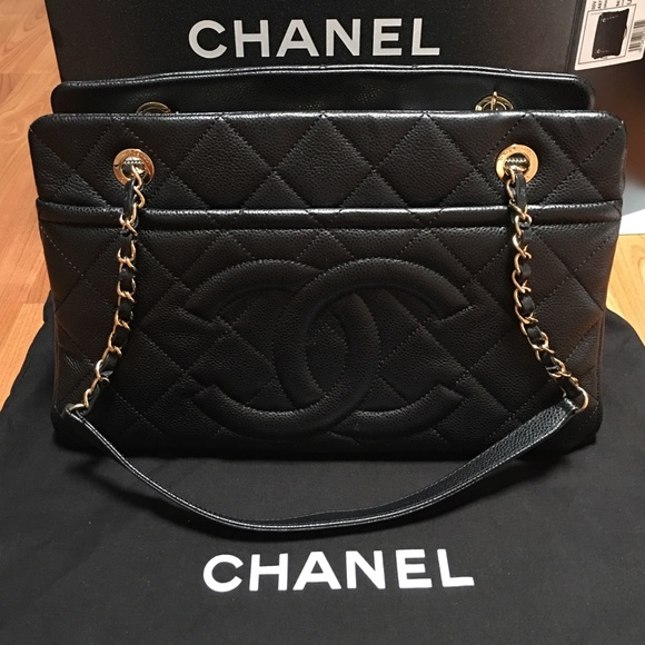 chanel quilted tote. chanel black caviar leather quilted purse bag chanel tote