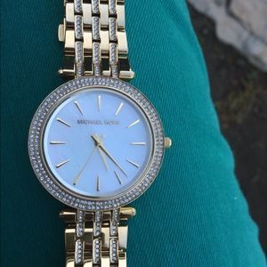 Michael Kors Accessories - Gold MK watch