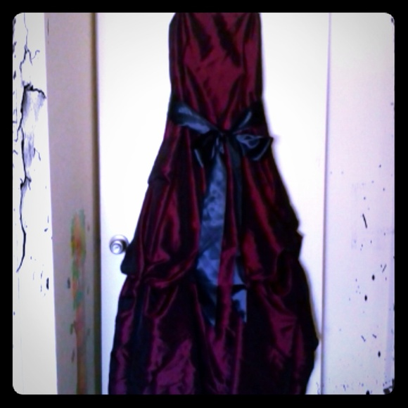 Dresses   Beautiful Maroon Ball Gown   Poshmark