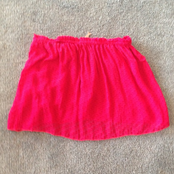 2f926978b06 Indah Star strapless tube top skirt-silk-NWT