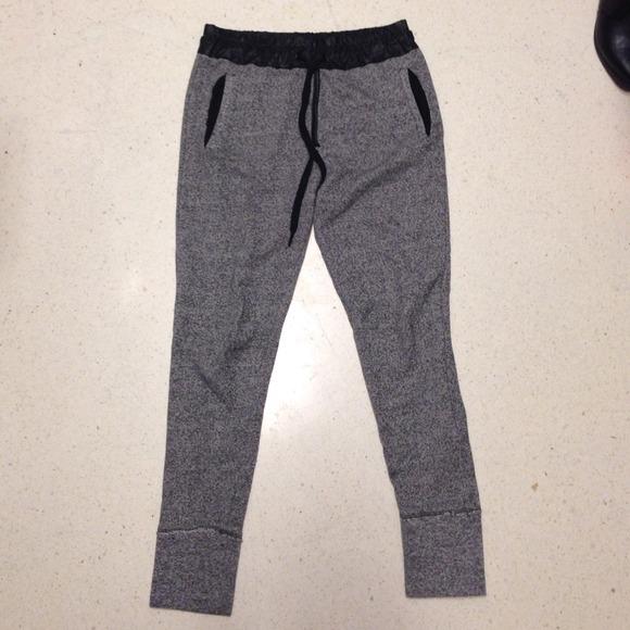 Zara tweed joggers