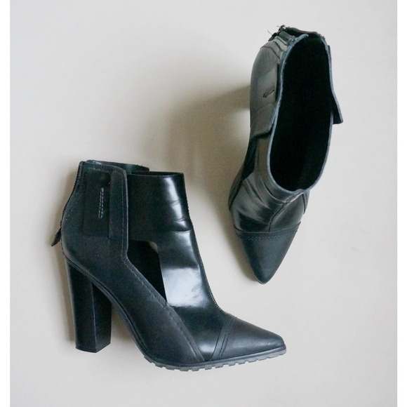Leather Boots TIBI