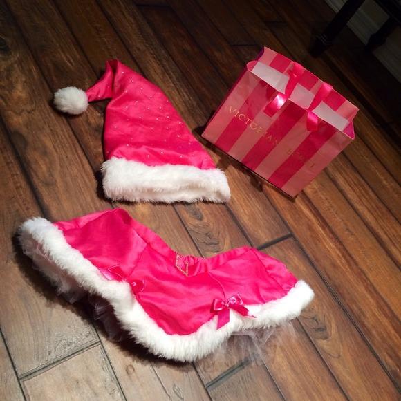 Victoria's Secret Dresses   Victorias Secret Pink Santa Christmas ...