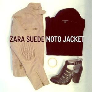 New Zara Moto Jacket - Total Trendsetter Host Pick