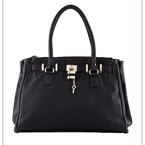 e85f20bd1c6 ALDO Handbags - Aldo black birkin style bag