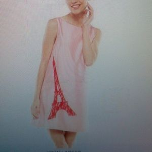 Nwt,lace eiffel tower shift dress size 10