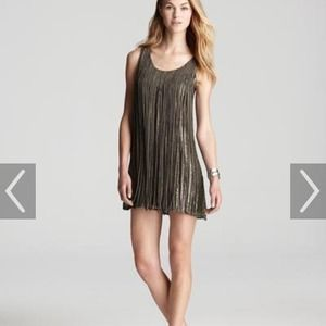 Parker fringe sequin dress