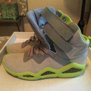 Reebok Shoes - Reebok Chi Kaze Sneaker,  Neon green + gray, 7.5