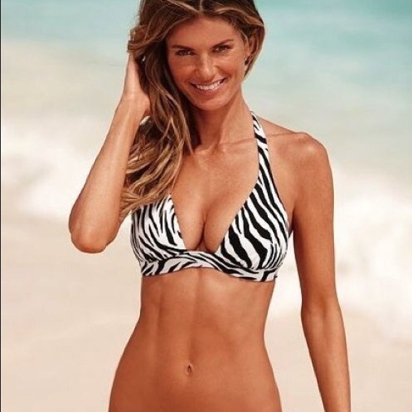 a2c4ab45df8 Victoria secret zebra print bikini top