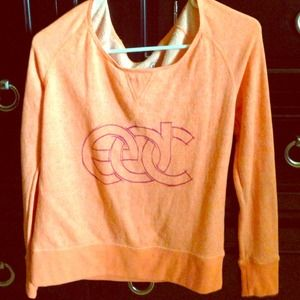 Tops - Orange EDC Rave Sweatshirt