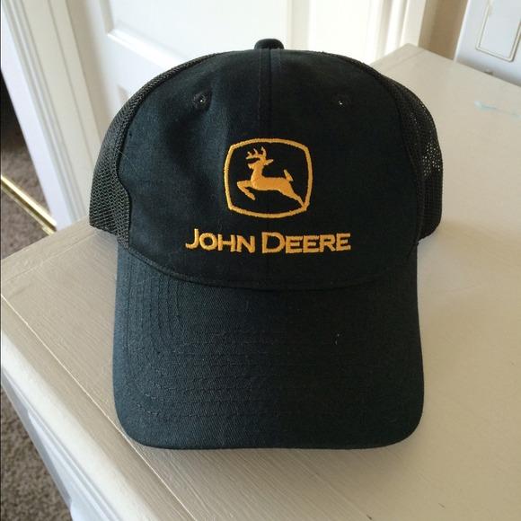 John Deere Accessories - John Deere Yellow and Black Baseball Cap! 💛 6fd0939e5282