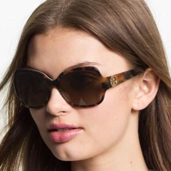 c91d6a86bd Tory Burch  Glam  57mm Logo Hinge Sunglasses