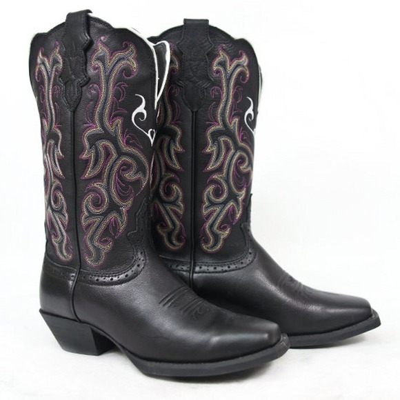 e26d946af9c Justin Boots - Justin Womens Stampede Western Cowgirl Boots ❤️