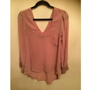 Blush blouse.
