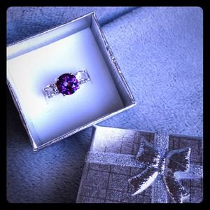 Addl photos Orchid Mystic Topaz Sterling Ring