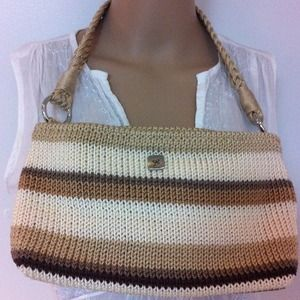 lina Handbags - Natural colored Lina handbag.