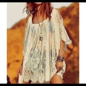 Tops - Lace Tunic