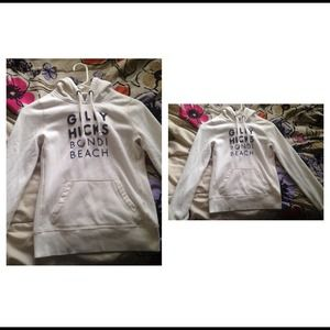 White Gilly Hicks Hoodie