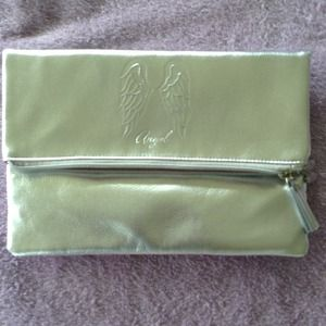 Victoria's secret silver clutch bag
