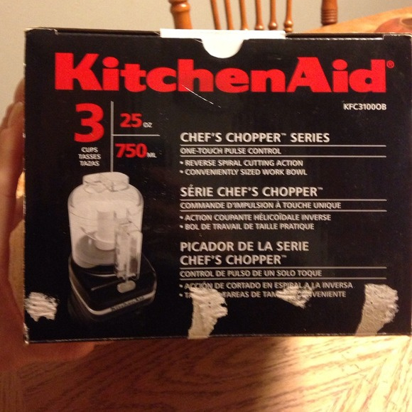 49 off kitchenaid other kitchenaid chef 39 s chopper series nwot from amanda 39 s closet on poshmark - Kitchenaid chefs chopper ...