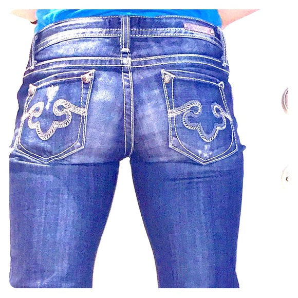 86% off Express Denim - Express Rerock Boot Cut Jeans with Stretch ...