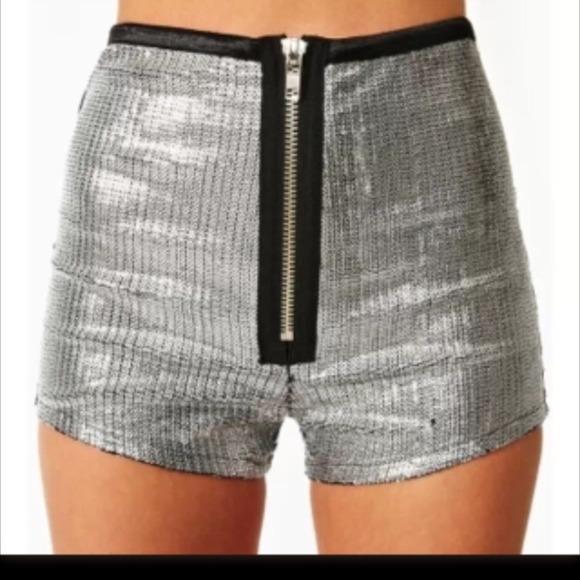 Buy Cheap Footlocker Finishline See by Chloé High-Rise Sequin Shorts Cheap High Quality Q3lS5W53R