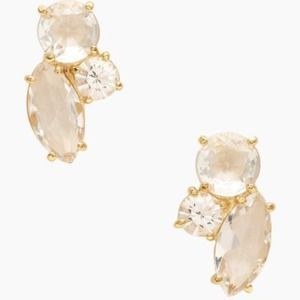 host pickKate spade cluster earrings