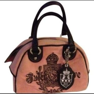 Juicy Couture Bowler Crest Pink Bag - Satchel