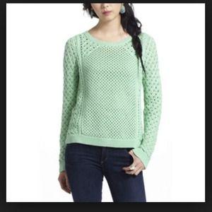 Lightweight Sweater - Anthropologie Teal Knit