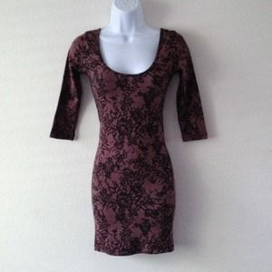 Dresses & Skirts - Lace print dress