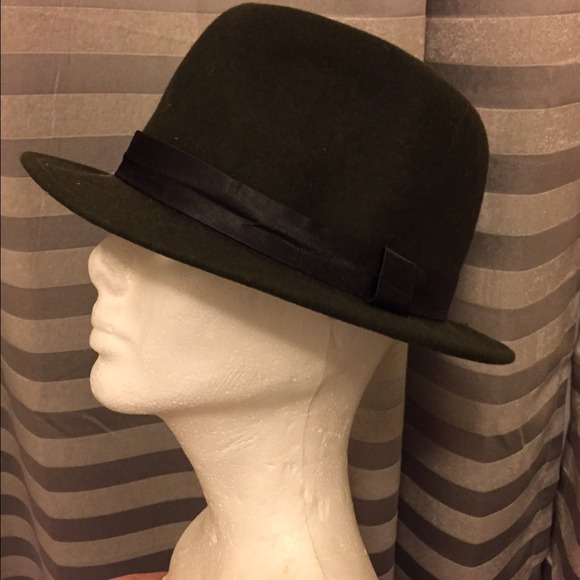 Accessories - Forest Green Fedora e49a175accf